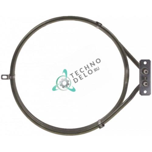 Тэн 4000Вт 230В D-233мм KRS00006 для печи Apach A9/6, Piron, Tecnoeka и др.