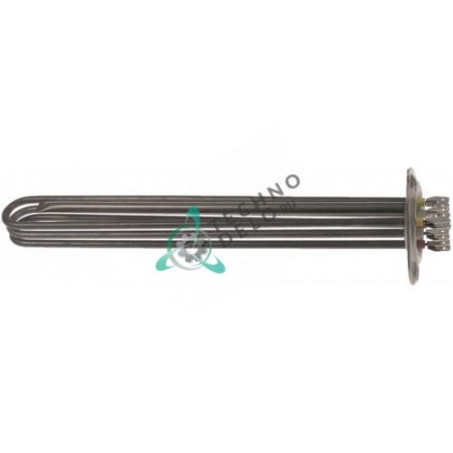 Тэн 6000Вт 230В ø47,5мм 315x33x36мм трубка d6,5мм A030017 погружной нагревательный элемент для Linea Blanca и др.