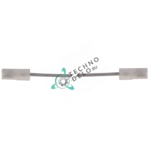 Кабель нагревательный 300Вт 230В L6000мм d3мм для Metalcarrelli 9040