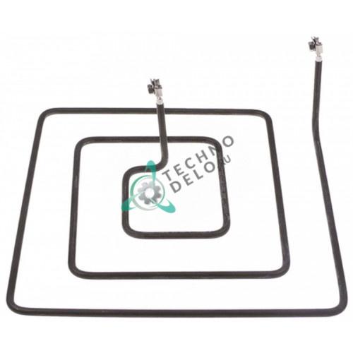 Тэн (1000Вт 400В) 255x255x75мм трубка d-6,5мм M5 0K4820 18002171 72093612 для плиты Electrolux CE128-101 и др.