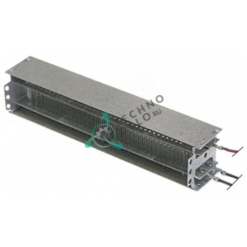 Регистр 197x40x35мм 2000Вт 230В для вентилятора