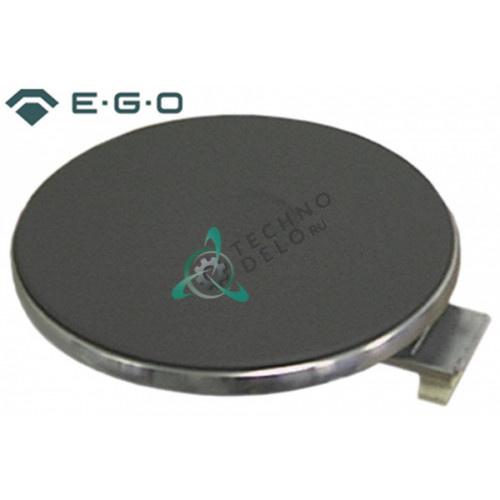 Конфорка электрическая EGO 12.18454.02 диаметр-180мм 2000Вт 230В (нержавеющий ободок)