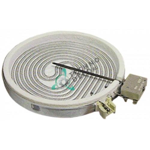 Конфорка EGO 10.78631.004 D-200мм 1,7 кВт/230В 0101466 плиты Angelo Po, Gico, Silko и др.
