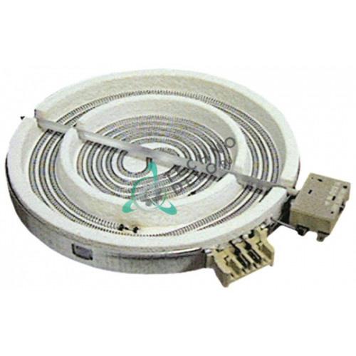 Конфорка нагреватель EGO 1071261004 D-230мм 2100Вт 230В для Ascobloc, Kuppersbusch, Palux, Zanussi