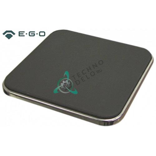 Конфорка электрическая EGO 11.22454.238 2600Вт 400В 220x220мм плиты Ambach, Angelo Po, MKN и др.