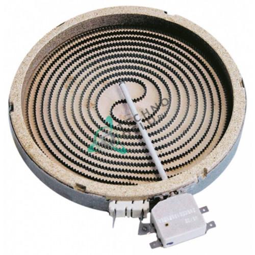 Конфорка Ceramaspeed D-200мм 1800Вт 230В 0C1809 0D6989 Y12207/ универсальная для плит
