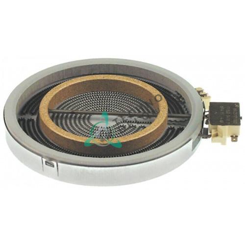 Конфорка нагреватель EGO 1058211004 D-200мм 1700Вт 230В для Lotus
