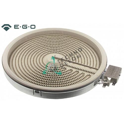 Конфорка нагреватель EGO 1053111106 D-250мм 2500Вт 400В для плиты Nayati, Palux, Salvis и др.