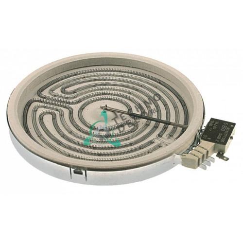 Конфорка EGO 10.71421.004 D-230мм 2100Вт 230В для плиты Ascobloc AEH300/AEH308/AEH500 и др.