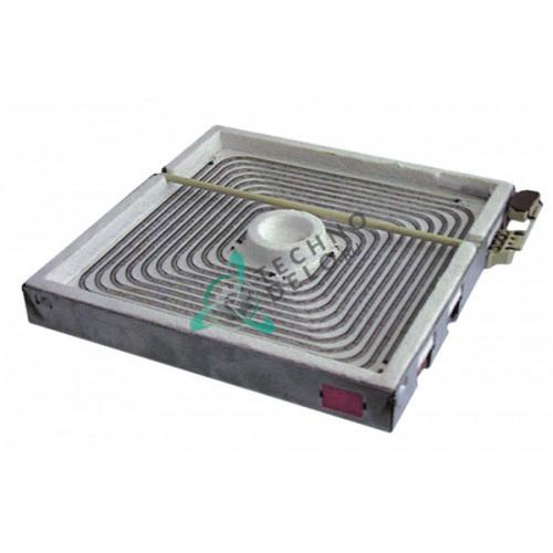 Конфорка нагреватель EGO 10.77828.001 300x300мм 2500Вт 400В 160366 для Kuppersbusch