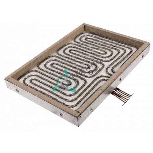 Конфорка нагреватель AD 100.436 7500Вт 400В 280x400мм 965.037.00 для Modular