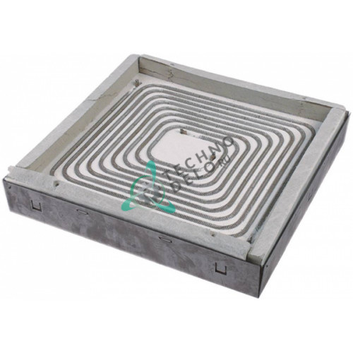 Конфорка 3500(2x1750)Вт 400В 295x295мм для плиты Ascobloc