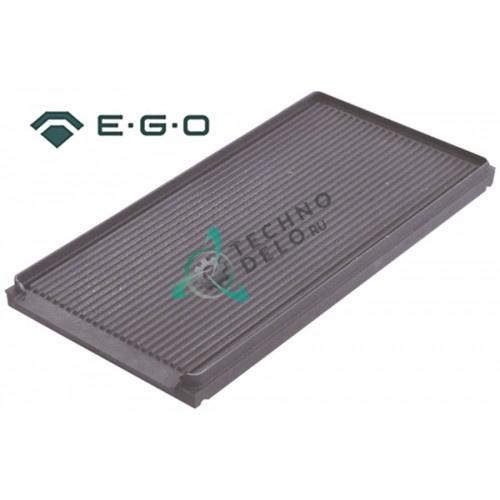 Плита EGO 1563471111 5000Вт 400В 620x305мм для гриля Capic, Cometto