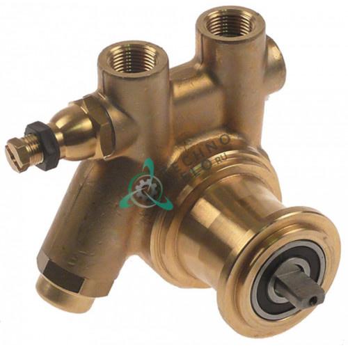 Головка насоса Fluid-O-Tech PA104X L-82мм 100л/ч ось 4,8x11мм 7730506 для кофемашины Bezzera BZ35 и др.