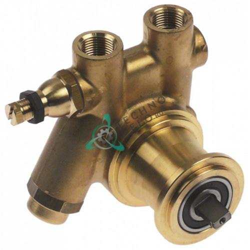 Головка насоса Fluid-O-Tech PA204X L-82мм 200 л/ч 9007901 для кофемашины Azkoyen, La-Cimbali, Reneka и др.