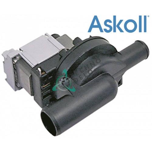 Насос сливной Askoll M231 XP ø30/ø22мм 130138 посудомоечной машины Colged, Elettrobar и др.