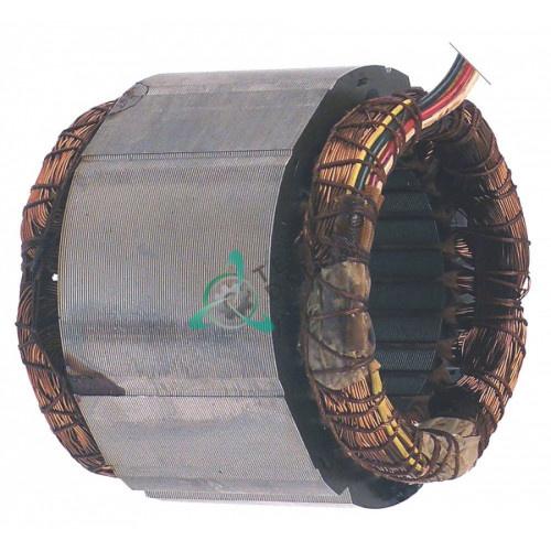 Статор 230В 1400об/мин ø110/ø66мм F2077 MF0004 для мясорубки Fama mod.8 CE, Sirman сыротерка GP