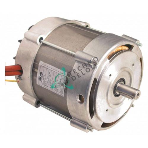 Мотор CSM M112 3000Вт 230/400V 1390 об/мин 3 фазы вал ø19мм LF1831001 LF1839701 для мясорубки Sirman Master 30 и др.