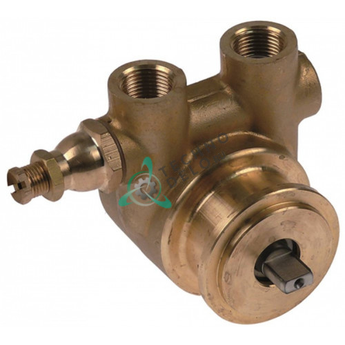 Головка насоса Fluid-O-Tech CO104 L-60мм 100л/ч ось 4,8x11мм 001175 для кофемашины SODASTREAM