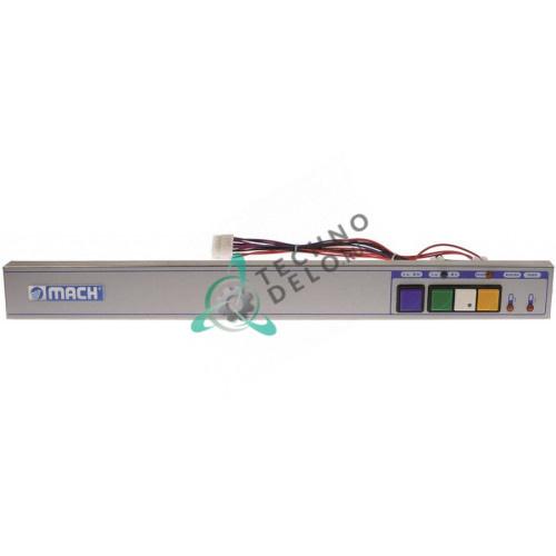 Панель 600064500 595x65мм для профессиональной посудомоечной машины Mach MS453, MS/450, MS/700 (до 05/1995 г. вып.)