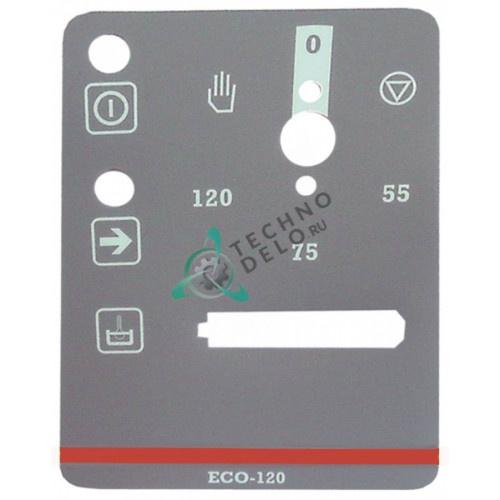 Стикер обозначения кнопок 12020129 Z732901 панели управления посудомоечной машины Fagor ECO120