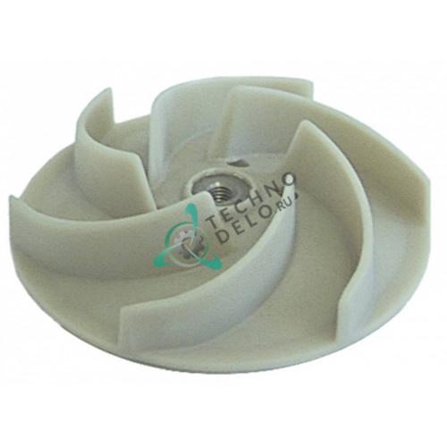 Крыльчатка насоса FIR ø124 H34/16мм DW88222 для посудомоечной машины Comenda, Dihr, Olis и др.