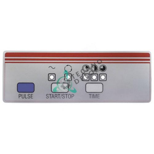 Стикер обозначения кнопок 37M1610 SL1504 175x61мм для картофелечистки Fimar PPF10/PPF18M/PPN10 и др.