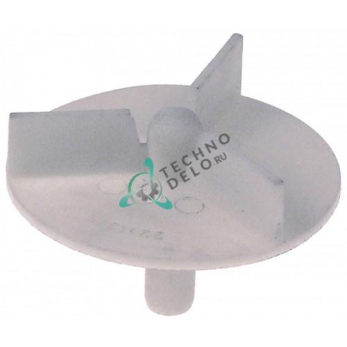 Крыльчатка насоса FIR ø72 H18мм 631660 для посудомоечной машины Colged, Comenda, Elettrobar и др.