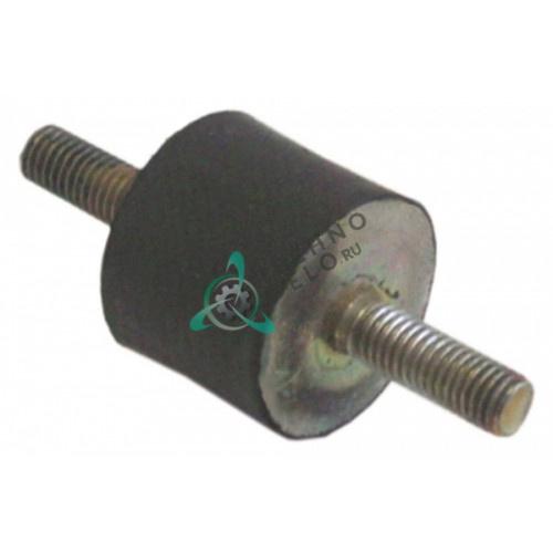 Виброгаситель мотора H-25мм ø30мм резьба M8 10404 для оборудования Adler и др.