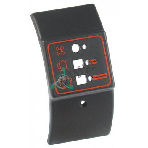 Панель 11669 106129 SM410 с обозначениями элементов управления профессиональной кофемашины LA SAN MARCO и др.