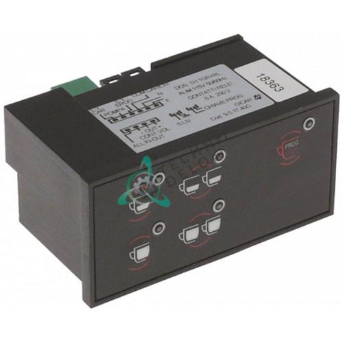 Панель управления Gicar 9.5.17.40G 5 кнопок 92x44мм кофемашины Astoria, Wega AIRY/ATLAS/ESPRESSA и др.