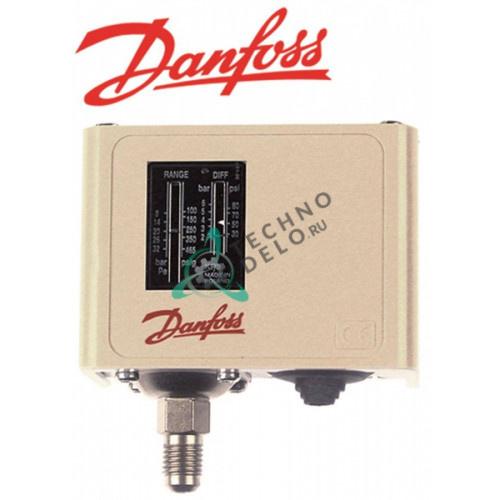 Прессостат Danfoss KP5 60-1173 HD 8-32бар подключение 7/16 UNF (1/4 SAE) для холодильного оборудования HoReCa