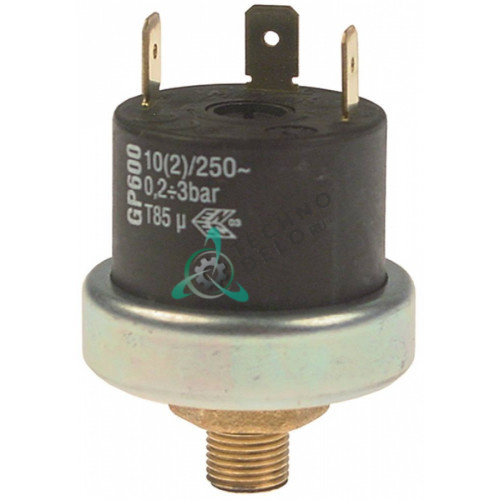 Прессостат реле давления 3041830 GP600 0,2-3,0 bar для Angelo-Po, Sagi, Convotherm, Repagas и др.