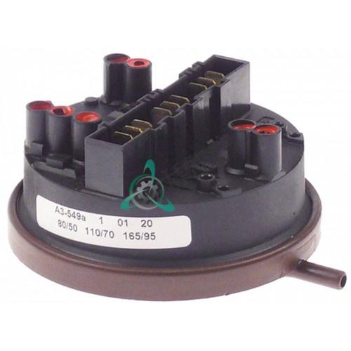 Прессостат реле давления EATON 80/50 - 110/70 - 165/95 bar для прачечного оборудования Grandimpianti и др.