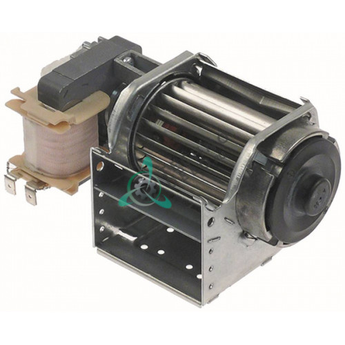 Вентилятор тангенциальный EBM-Papst QLK45/0006-2513 230В 15Вт D-45мм 1648106045 холодильного оборудования Polaris и др.