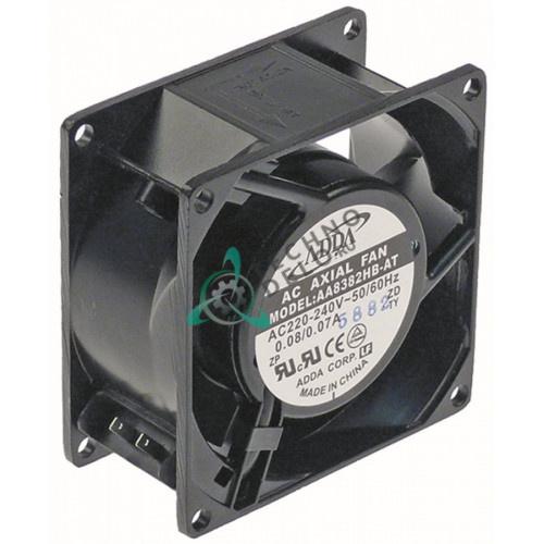 Вентилятор ADDA AA8382HB-AT 230VAC 50/60Hz 14/13.5W (80x80x38мм)