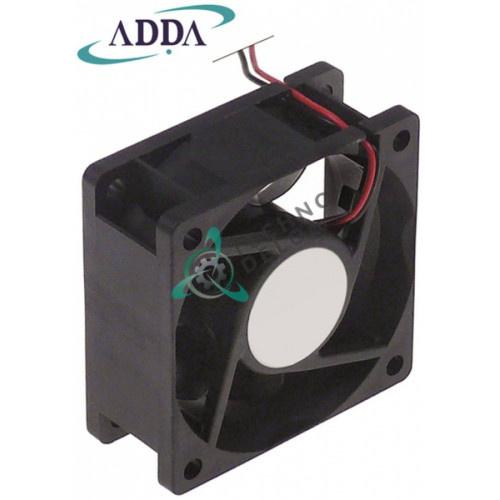 Вентилятор (кулер) ADDA 60x60x25мм 24VDC 1,87Вт 70°C