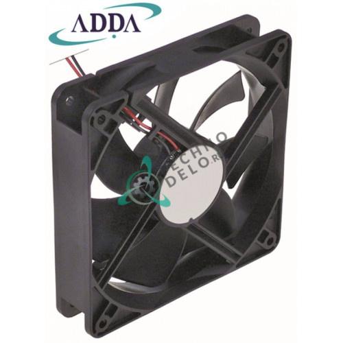 Вентилятор (кулер) ADDA 119x119x25мм 12VDC 4,44Вт K105/6520 для Fornitalia