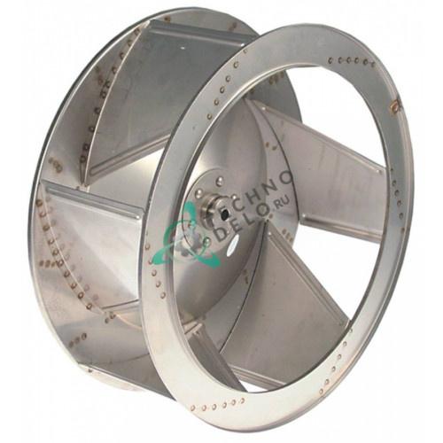 Крыльчатка мотора ø 350мм 0С6463 для пароконвектомата Zanussi/Electrolux 260606, AOS101 и др.