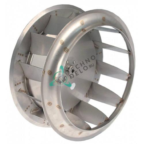 Крыльчатка мотора 0C6464 ø 380мм для пароконвектомата Zanussi/Electrolux