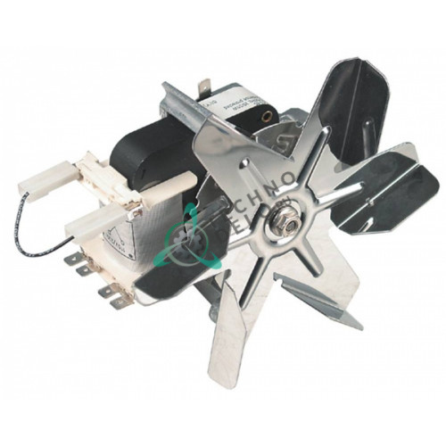 Вентилятор EBM-Papst R2K150-AC43-65 115/230В 30/35Вт крыльчатка D-150мм 33202223 для тележки с подогревом Rieber