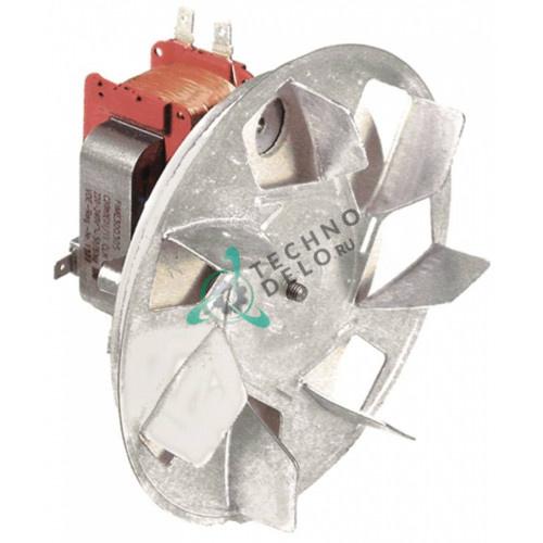 Вентилятор Fime C20X0E01/15CLH (230В 32Вт) крыльчатка D-155мм 0K3048 569010100 для Electrolux, Multinox и др.