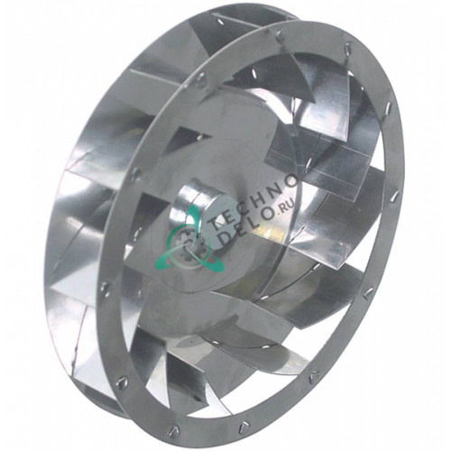 Крыльчатка мотора ø 160 мм 019290071, 069290197 для Smeg Alfa10-11-31, RFF404 и др.