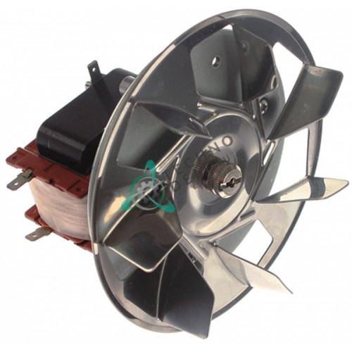 Вентилятор Fime C30R0409/1CLH (230В 35Вт) крыльчатка D-152мм 20874 / 699250017 / 699250028 печи Smeg и др.