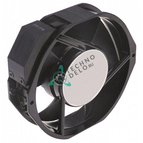 Вентилятор кулер ADDA 172x150x38мм 230VAC 38/35Вт металл для Afinox, CAB и др.