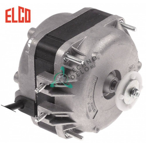 Мотор вентилятора Elco VN10-20/507 NET4T10ZVN006 10Вт 230В 1300/1550 об/мин I0220067 R35-0026 для Desmon, IARP, Olis, Polaris