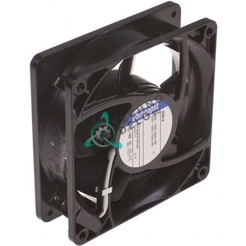 Вентилятор осевой (кулер) EBM-Papst 4656N 119x119x38мм 230VAC 19Вт 0W5643 для жарочной поверхности Electrolux и др.