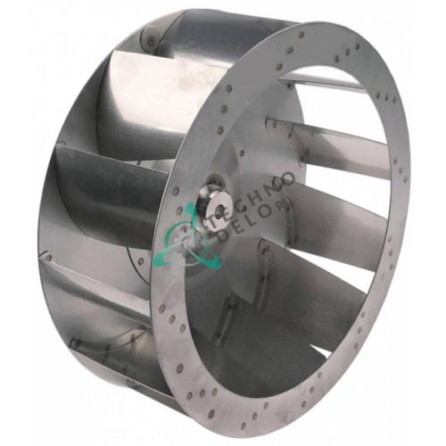 Крыльчатка (ø350/ø13/ø16мм H-125мм) 12016581, R253042 для печи Fagor, Öztiryakiler и др.