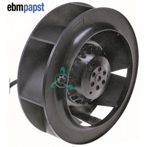 Вентилятор Ebm-Papst R2E190-A026-66 58Вт 230В D-190мм 6 лопастей 2500 об/мин 30631 для Ilsa, Whirlpool, Friulinox и др.