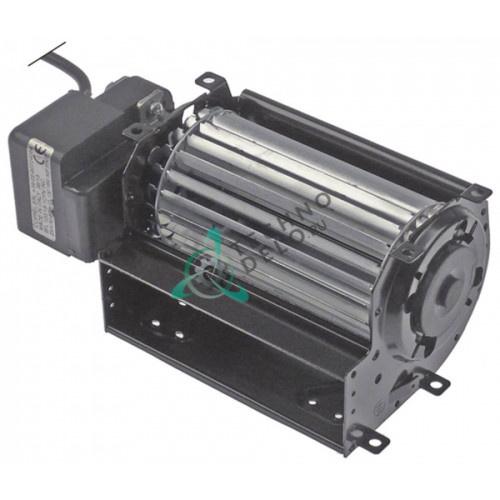 Вентилятор-электромотор Coprel FFL 19Вт 230В ø60мм L-120мм -10 до +60°C кабель L-2000мм для холодильного оборудования